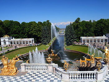 Peterhof Fountains Park